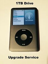 Upgrade Ipod Classic Service to 1tb for Ipod 5th or 7th Generation