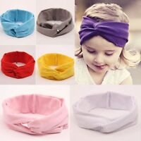 Baby Toddlers Infants Kids Girl Sweet Wide Hairband Headband Cross Head Wrap