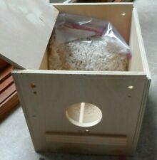 Wooden Nest Box Large