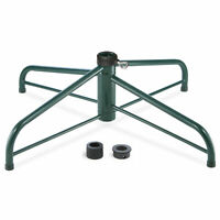 "National Tree Company 32"" Folding Tree Stand for 9' to 12' Trees 2"" pole Chri..."