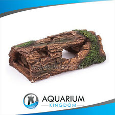 #18469 Kazoo Half Breeding Log - Medium Aquarium Ornament Decoration Driftwood
