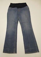 Liz Lange Maternity Womens Size 6 Blue Stretch Maternity Jeans Good Condition