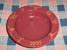 Frankoma Ranch Cabernet Bowl  7 3/4 Inch Cereal Soup Salad Gently Used to Unused