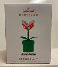 Piranha Plant Super Mario Limited Edition 2019 Hallmark Ornament