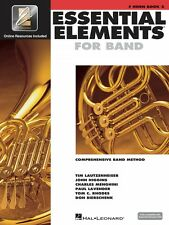 Essential Elements for Band Book 2 with EEi F Horn Book with Online 000862598