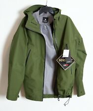 Goldwin Gore-Tex Men's Large Jacket New With Tags Olive Green