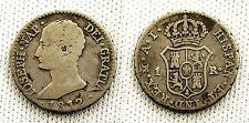 JOSE NAPOLEON. 1 Real. 1812 A.I. MADRID. MBC/VF. Plata 1,5 g. CAL-65. Muy rara