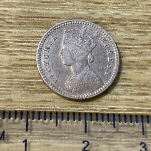 British India Victoria 2 Annas 1885 (ref #13)