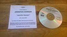 CD Pop Jennifer Hanson - Same (11 Song) Promo EMI CAPITOL REC