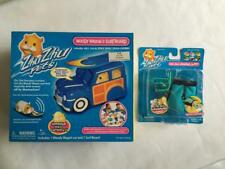 New ZHU Pets Hamster Woody WAGON & SURFBOARD Wetsuit Outfit Swim Mask Car Surf