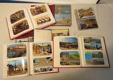 6 Albums de cartes Postales