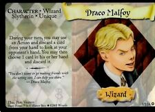 Harry Potter Trading Card Game DRACO MALFOY 3/116 Adult Owned Near Mint