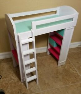 "Loft Bunk Bed for My Life As, American Girl ,Our Generation OG 18"" Dolls"