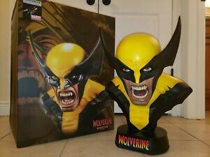 Wolverine: Berserker Rage Life Size Bust Sideshow X-Men (Marvel Sample)