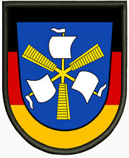 Wappen von Haren (Ems), Aufnäher ,Pin, Aufbügler