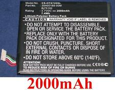 Batterie 2000mAh type BJ75100 35H00188-00M Pour HTC One L