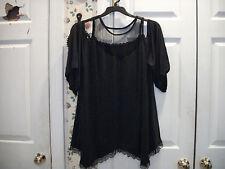 Women's Black Sexy Babydoll Lingerie Sleepwear NightShirt Plus Size 5X