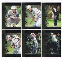 2001 Upper Deck TIGER WOODS TIGER TALES--Complete 30 card set!!