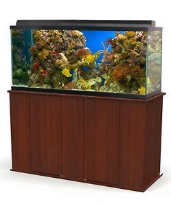 Aquatic Fundamentals 75-90 Gallon Cherry Wood Upright Aquarium Stand