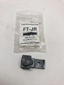 NEW Custom Brackets FT-JR Flash Shoe Mount CB Junior Digital-T Digital-S Bracket