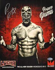 Prince Puma Signed 11x14 Photo BAS COA Lucha Underground Ricochet NJPW Wrestling