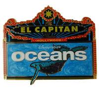 DSF DSSH Disneynature Oceans El Capitan Marquee Whale Nature Disney Pin LE 300