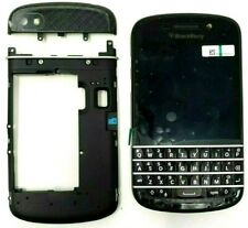 BlackBerry Q10 Black LCD Screen and Digitizer Assembly + Complete Black Housing
