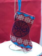 Marvel Avengers Spiderman Christmas Mini Stocking  knit