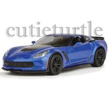 Welly 2017 Chevrolet Corvette Z06 1:24 Diecast Model Car 24085-4D Blue