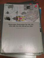 Mercedes Service  Neuerungen Juni 2001 - R 170 - W 203 -208 -210 - 215 -220 -168
