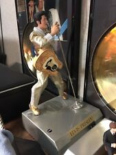 ELVIS PRESLEY TELEPHONE - RARE GOLD SUIT-SINGING AND DANCING IN ORIG-BOX REDUCED