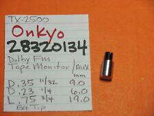 ONKYO 28320134 PUSH CAP KNOB TAPE MONITOR AUX  FM MUTING  TX-4500 TX-2500