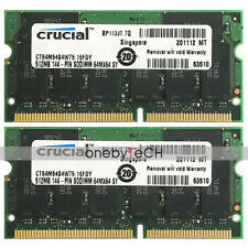 New 1GB (2x512MB) PC133 PC-133 144-pin SD-RAM Memory For Dell LATITUDE C510 C400