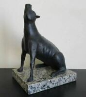 """RUFINO TAMAYO BRONZE SCULPTURE """"COYOTE"""" SIGNED AND NUMBERED"""
