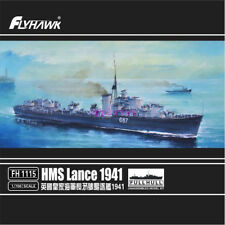 Flyhawk 1/700 1115 HMS Destroyer Lance 1941 top quality