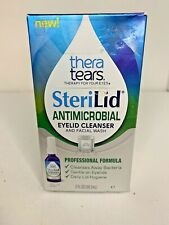 Thera Tears Sterilid Antimicrobial Eyelid Cleanser and Facial Wash 2oz
