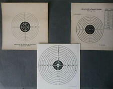 3 x Zielscheibe Schießscheibe für Luftgewehr GST
