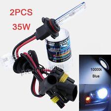 Headlight 35W AC HID Fog Light Xenon Kit Lights - H1 10000k 10k Blue FIT