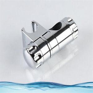 Adjustable Shower Head Holder Rail Slider Bracket Replacement Chrome Parts GR