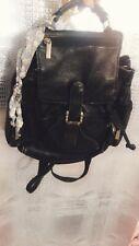 Vintage 90s 2000s Y2k Grunge Punk Leather Backpack