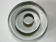ROUND frese, Set di 3. in METALLO frese, Sugarcraft, Biscotti, Decorazione Torte