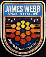 JAMES WEBB SPACE TELESCOPE - JWST - NASA MISSION PATCH - GODDARD SPACE CENTER