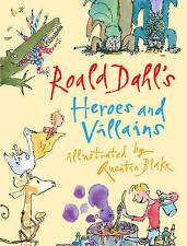 """VERY GOOD"" Roald Dahl's Heroes and Villains, Dahl, Roald, Book"