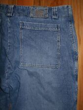 Jeans Marithe Francois Girbaud Cinch Leg Mens 42x34 Blue Denim Pants 6J136