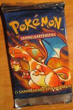 Pokemon 1st Edition First German Base Basic Set Booster Pack Charizard/Blastoise