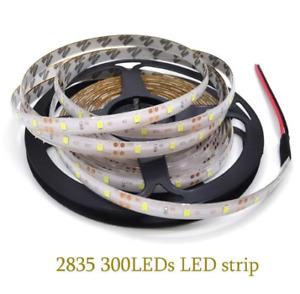 5M SMD 300 600 LED 3014 3528 5050 5630 Waterproof Flexible Strip Light 12V White