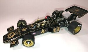 Lotus 72D Emerson Fittipaldi JPS Winner British GP 1972 1/18 Scale diecast Q9007