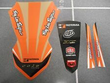 KTM 50 SX50 SX 50 50SX FRONT REAR FENDER 2016 16 DECALS GRAPHICS CUSTOM STICKERS
