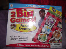BRAND NEW CenterSolutions Food Frenzy Healthy Foods 2 Sided Game Mat Level Play
