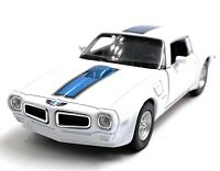 1972 Pontiac Firebird Trans Am White Model Car Car Scale 1:3 4 (Licensed)